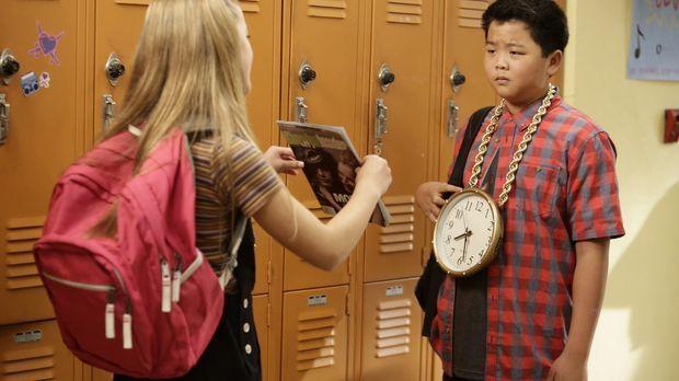 Die Beziehung von Eddie (Hudson Yang, r.) und Alison (Isabella Alexander, l.)...