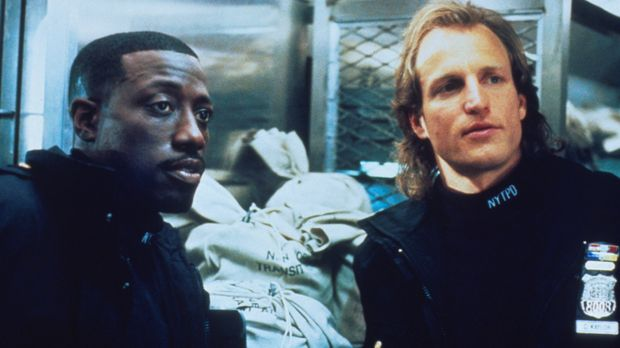 Die Adoptivbrüder Charlie (Woody Harrelson, r.) und John (Wesley Snipes, l.)...