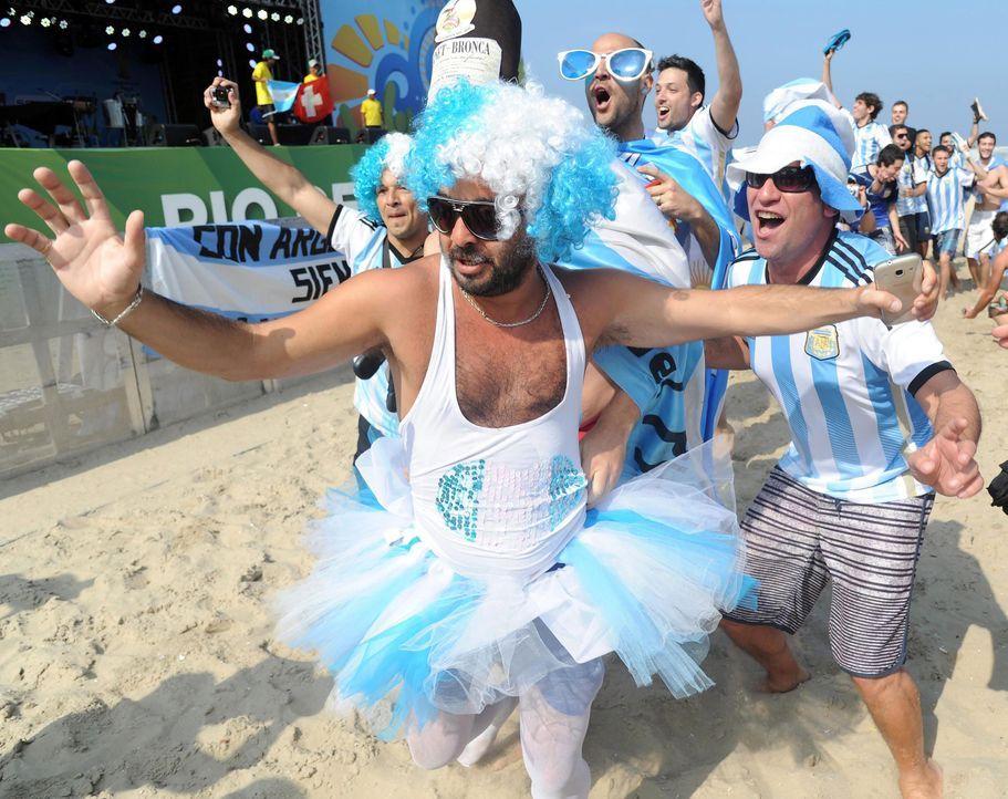 Argentinien-Fan-5 - Bildquelle: dpa