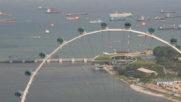 Das ist mal ein Ausblick! Das zweitgrößte Riesenrad der Welt, der