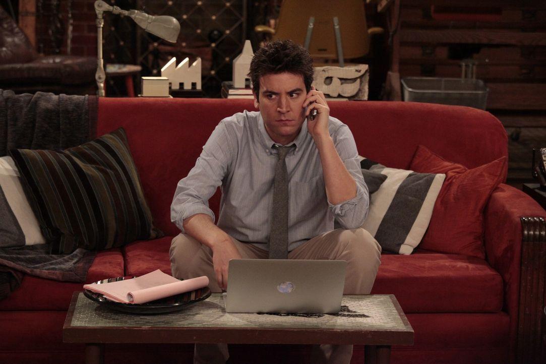 Während Ted (Josh Radnor) von seinem einsamen Dasein die Nase voll hat und sich dem Online-Dating zuwendet, hat Barney ein Problem mit dem Beruf sei... - Bildquelle: 20th Century Fox International Television