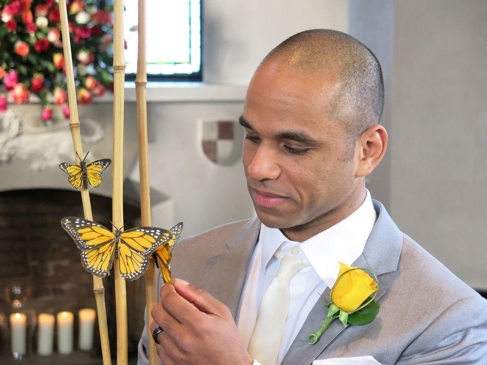 Kann Ryan seine Konkurrenten mit seinen ausgefallenen Hochzeitsplänen überzeugen? - Bildquelle: Richard Vagg DCL