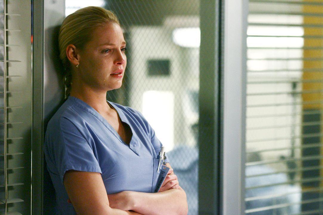 Der Aberglaube macht Izzie (Katherine Heigl) große Angst ... - Bildquelle: Touchstone Television