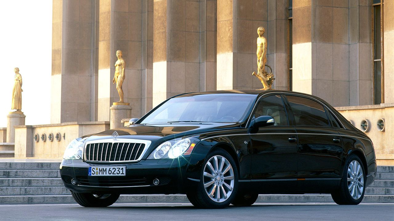 Maybach 62 - Bildquelle: Maybach