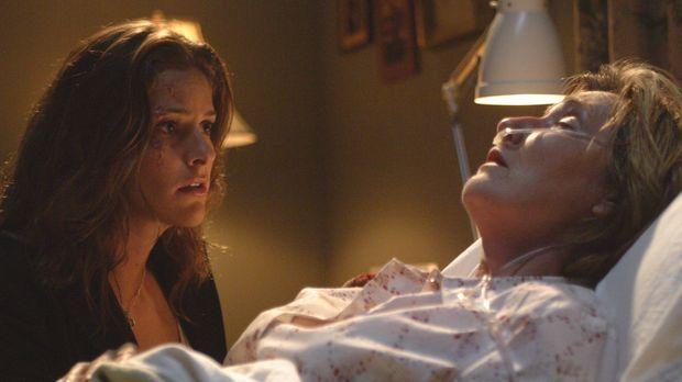 Kristas (Jill Wagner, l.) Mutter Lisa (P. Lynn Johnson, r.) hat nur noch weni...