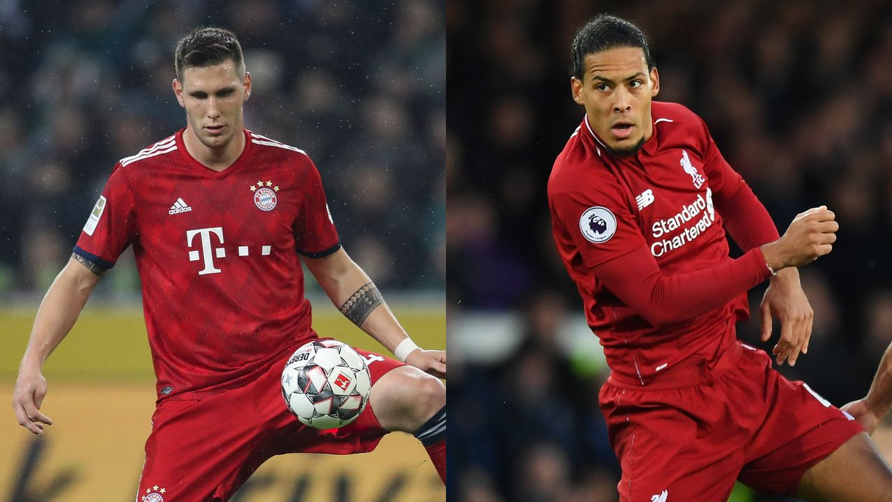 Niklas Süle vs. Virgil van Dijk - Bildquelle: Getty Images