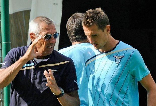Edoardo Reja schwärmt von der Arbeit mit Miroslav Klose