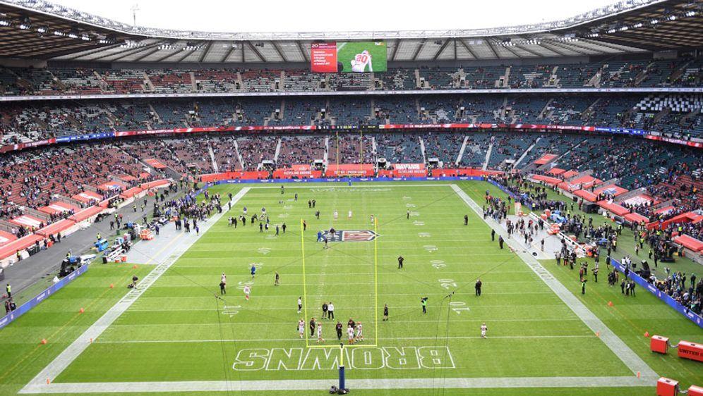 2017 fanden jweils zwei Spiele im Twickenham-Stadium und zwei Spiele in Wemb... - Bildquelle: 2017 imago