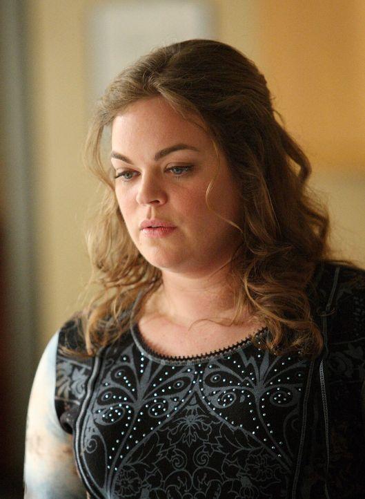 Janet (Rebecca Field) steht kurz davor, Eddie von ihrem Fremdgehen zu erzählen ... - Bildquelle: ABC Studios