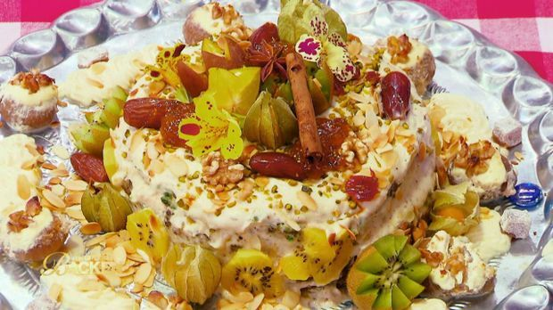 Orientalischer Naked Cake