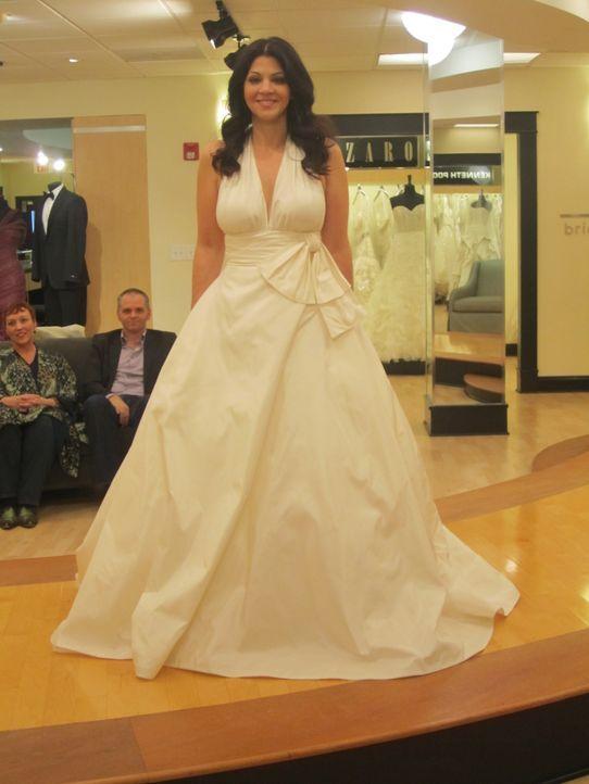 Hat Brittany Carreon endlich ihr perfektes Hochzeitskleid gefunden? - Bildquelle: TLC & Discovery Communications