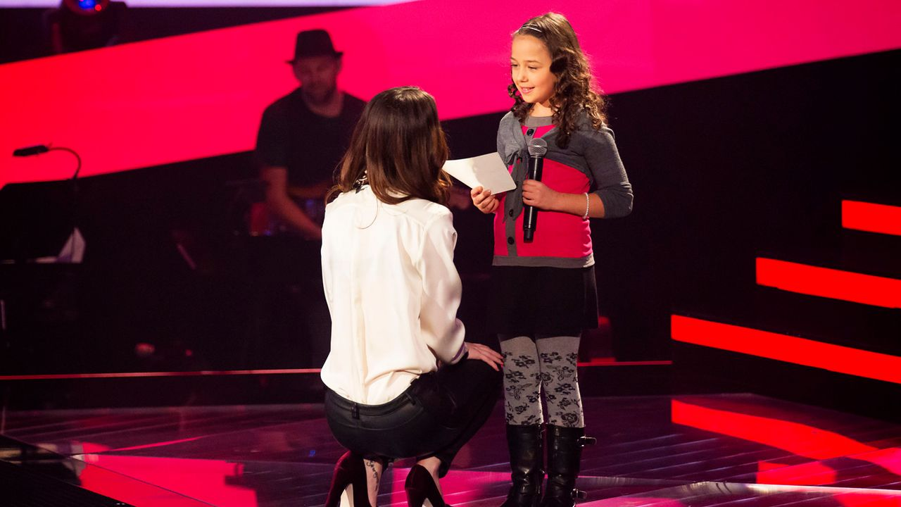 The-Voice-Kids-Nachher-Nicole-06-Richard-Huebner - Bildquelle: SAT.1/Richard Hübner