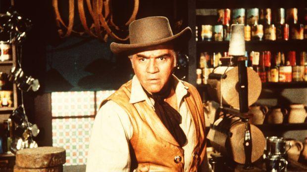 Ben Cartwright (Lorne Greene) erschießt in Notwehr den Taugenichts Luke Grays...