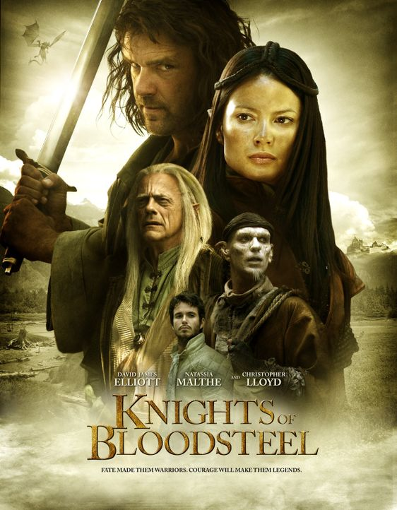 Knights of Bloodsteel - Plakatmotiv - Bildquelle: 2008 Dragonsteel Films Inc.