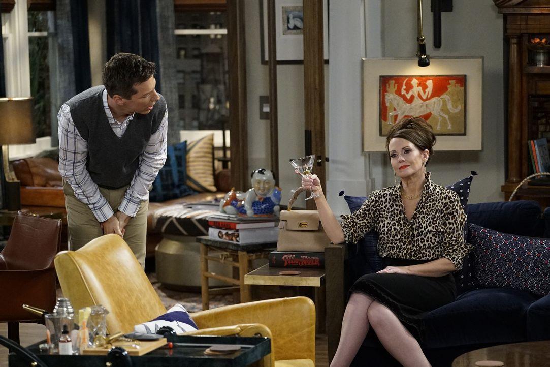 Jack (Sean Hayes, l.) und Karen (Megan Mullally, r.) bringen ihre Freunde in eine unangenehme Situation ... - Bildquelle: Chris Haston 2017 NBCUniversal Media, LLC