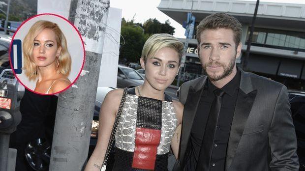 Hat Jennifer Lawrence tatsächlich Liam Hemsworth und Miley Cyrus wieder zusam...