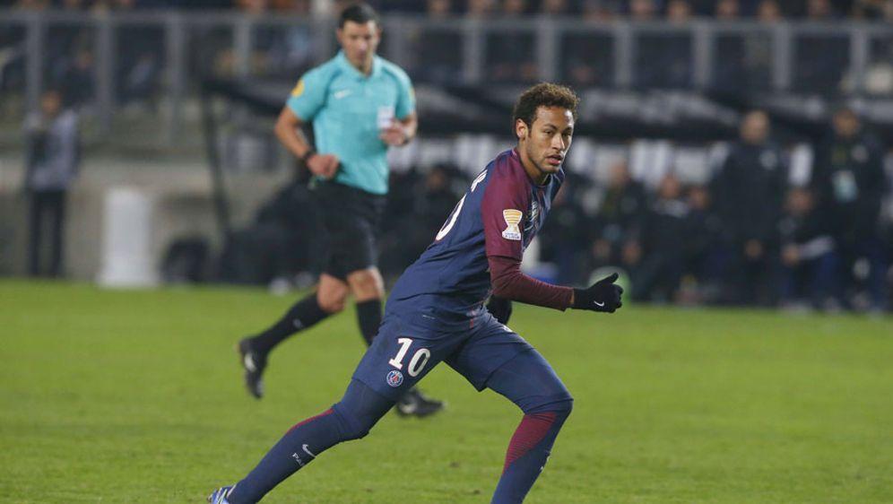 Im Ligaspiel von PSG beim SC Amiens versagte die Torlinientechnik erneut. - Bildquelle: 2018 imago sportfoto