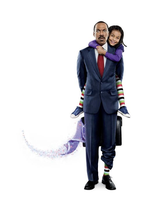 Was, wenn die Fantasie Ihrer Tochter, das Geheimnis Ihres Erfolgs wäre? Evan Danielson (Eddie Murphy, l.) und Olivia (Yara Shahidi, r.) ... - Bildquelle: 2009 BY PARAMOUNT PICTURES. ALL RIGHTS RESERVED