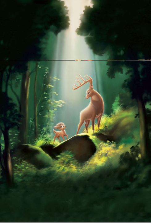 Bambi 2 - Der Herr der Wälder - Artwork - Bildquelle: Disney  All rights reserved
