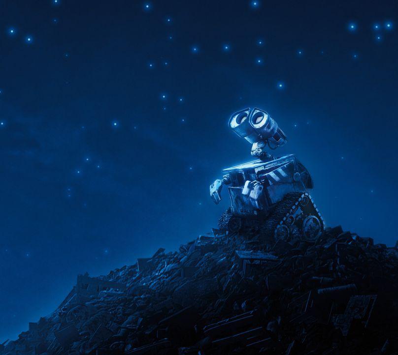 Seit vielen Jahren lebt Wall-E ganz alleine auf der Erde - und räumt diese auf. Manchmal fühlt er sich sehr, sehr einsam. Eines Tages landet ein R... - Bildquelle: Touchstone Pictures