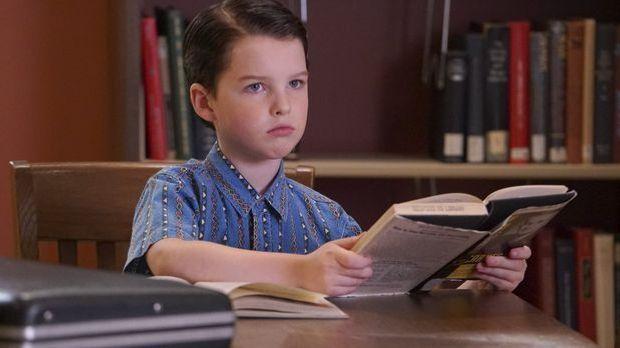 Iain Armitage als junger Sheldon Cooper