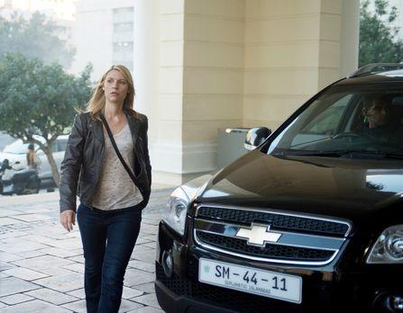 Homeland - Nachdem Carrie (Claire Danes) Lockhart unter Druck gesetzt hat, so...