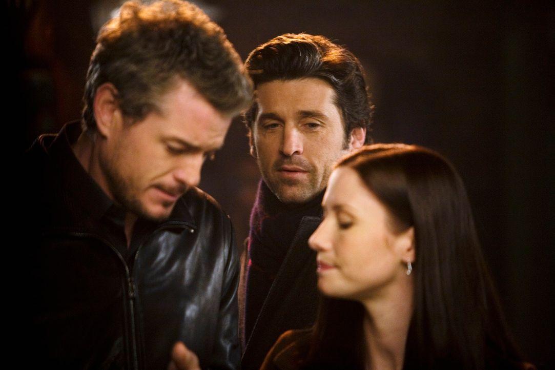 Nach Marks (Eric Dane, l.) Genesung möchte er gerne sein kleines Abenteuer mit Lexie (Chyler Leigh, r.) wiederbeleben, doch die macht ihm unmissver... - Bildquelle: Touchstone Television
