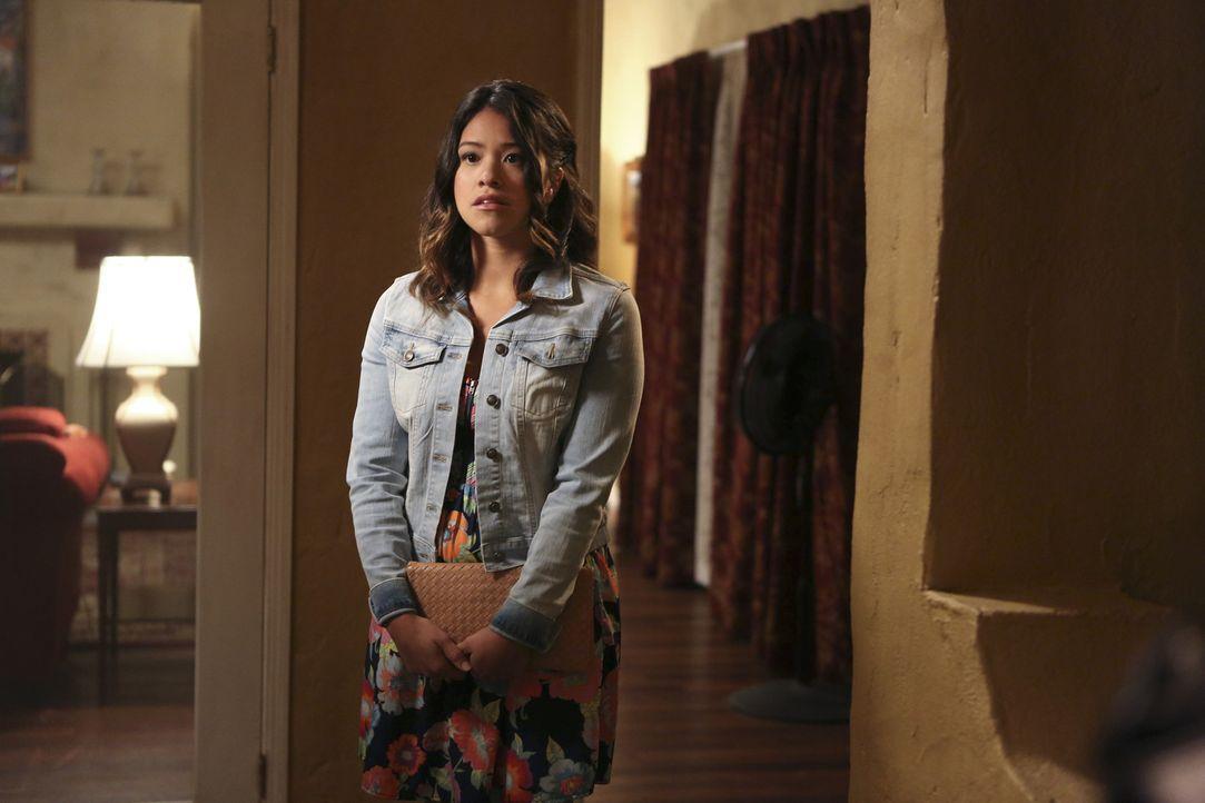 Kommt Jane (Gina Rodriguez) mit ihrer Situation weiter zurecht? - Bildquelle: 2014 The CW Network, LLC. All rights reserved.
