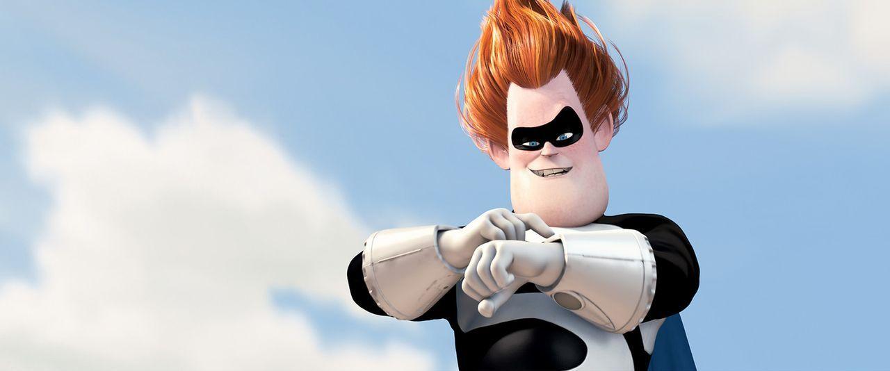 Wird es Syndrome tatsächlich gelingen, alle Superhelden auszulöschen? - Bildquelle: Disney/Pixar. All rights reserved