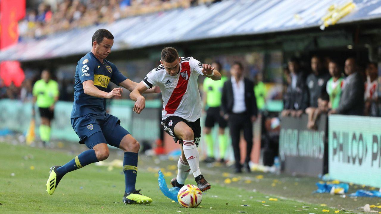 """Der """"Superclasico"""": Boca Juniors vs. River Plate - Bildquelle: Imago"""