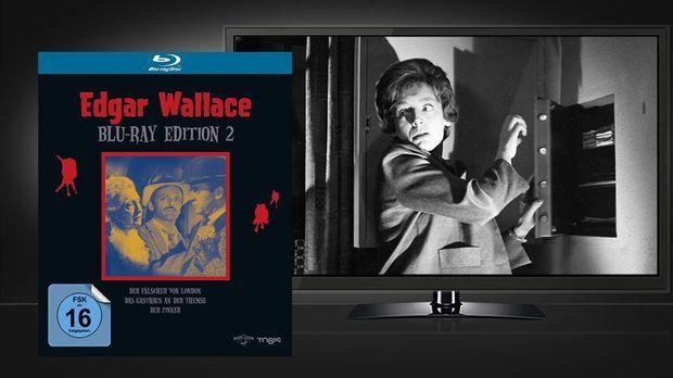 Edgar Wallace Edition 2 - Blu-ray und Szene © Universum Film