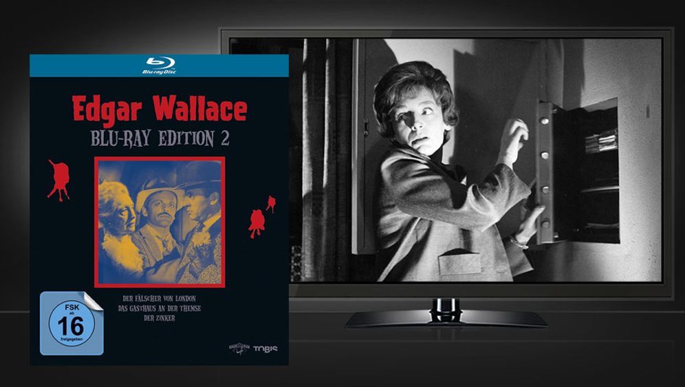 Edgar Wallace Blu-ray Edition 2 (Blu-ray Box) - Bildquelle: Universum Film
