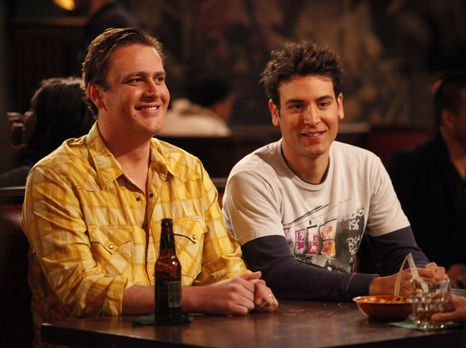 How I Met Your Mother - Ted (Josh Radnor, r.) und Marshall (Jason Segel, l.)...