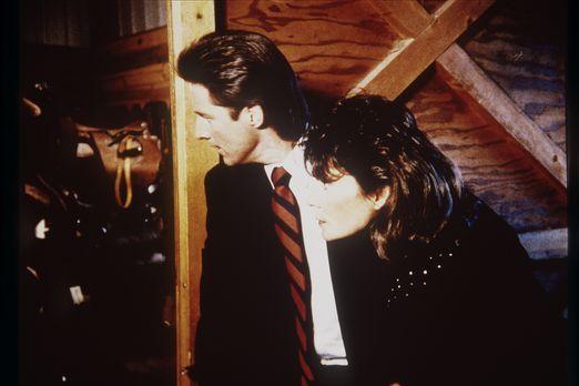 Agentin mit Herz - Lee (Bruce Boxleitner, l.) und Amanda (Kate Jackson, r.) s...