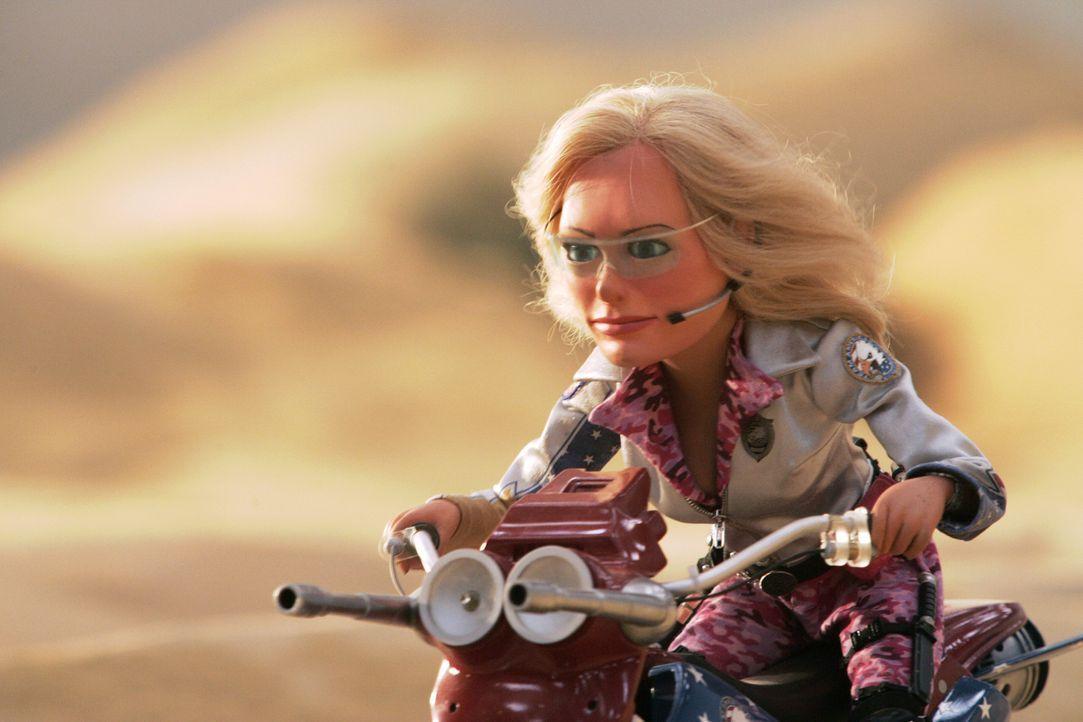 Eine hartgesottene Patriotin und der Schrecken aller Bösewichte dieser Erde: Lisa ... - Bildquelle: Paramount Pictures