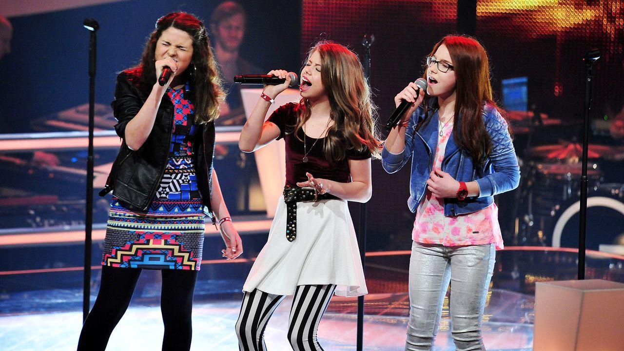 The-Voice-Kids-Stf02-Epi05-Chiara-Alex-Amina-SAT1-Andre-Kowalski - Bildquelle: SAT.1/Andre Kowalski