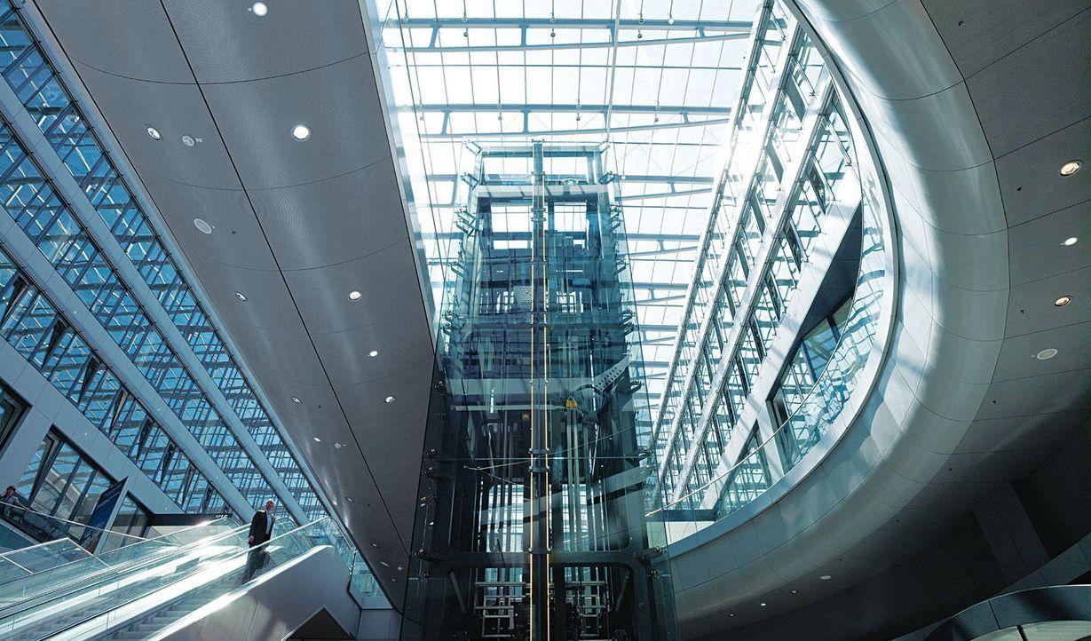 The Squaire in Frankfurt am Main - Bildquelle: Joppen/Horn/Sotir/Leitner