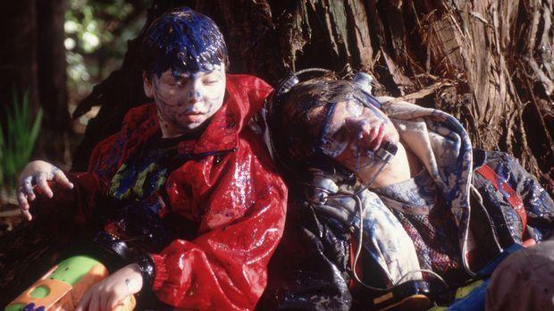 Rache ist süß: Alex (A.J. Trauth, r.) und Stevie (Spencer Breslin, l.) ... ©...