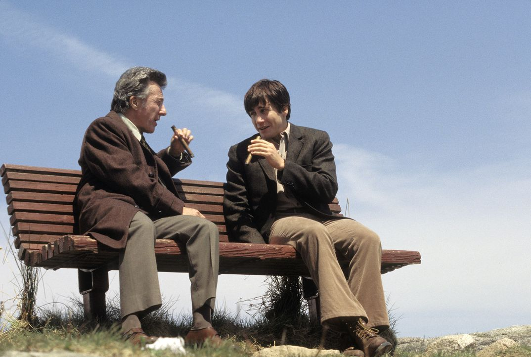Haben ein kumpelhaftes Verhältnis: Joe Nast (Jake Gyllenhaal, r.) und Ben Floss (Dustin Hoffman, l.) ... - Bildquelle: Touchstone Pictures