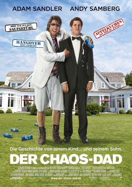 DER CHAOS-DAD - Plakatmotiv - Bildquelle: 2012 Columbia Pictures Industries, Inc. All Rights Reserved.