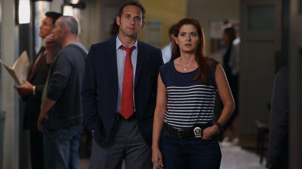 Detective Laura Diamond - Sind sich bei der Erziehung ihrer Söhne nicht immer...