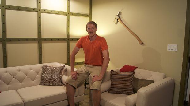 Aus einer Rumpelkammer zaubern Josh Temple und sein Team ein stylisches Feuer...