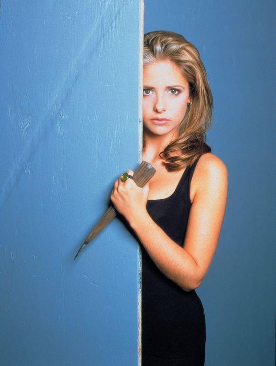 (1. Staffel) - Buffy (Sarah Michelle Gellar), die Vampirjägerin, lässt in ihrem Kampf für das Gute niemals nach. - Bildquelle: (1997) Twentieth Century Fox Film Corporation.