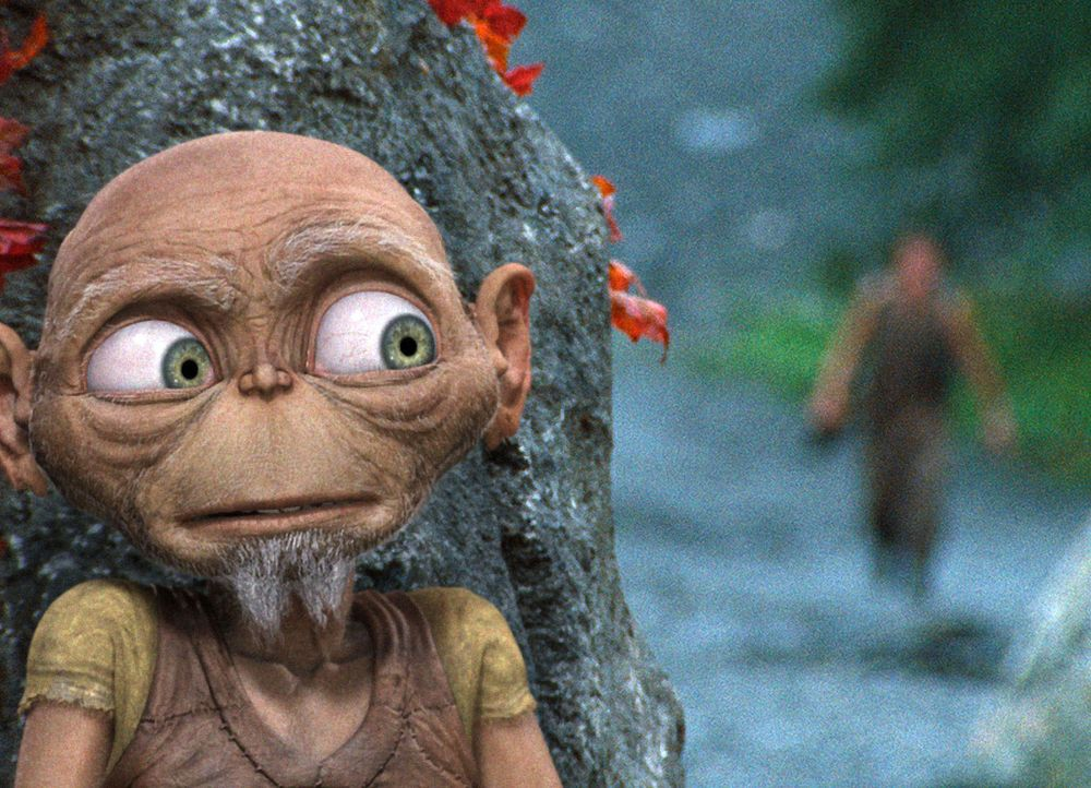 Der 605 Jahre alte Druide Oki hat einen ganz besonderen Grund, die sagenumwobene Nessie zu finden ... - Bildquelle: SAT.1