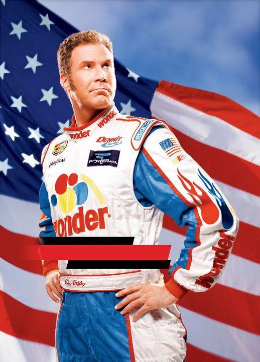 Ricky Bobby (Will Ferrell) ist ein gefeierter Rennfahrer, der zusammen mit seinem Kindheitsfreund ein Tourenwagen-Rennen nach dem nächsten gewinnt... - Bildquelle: Copyright   2006 Sony Pictures Television International.