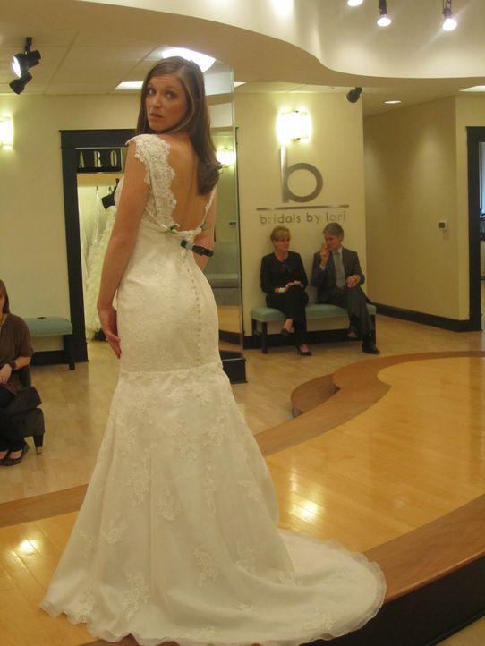 Delaina ist auf der Suche nach ihrem perfekten Hochzeitskleid. - Bildquelle: TLC & Discovery Communications