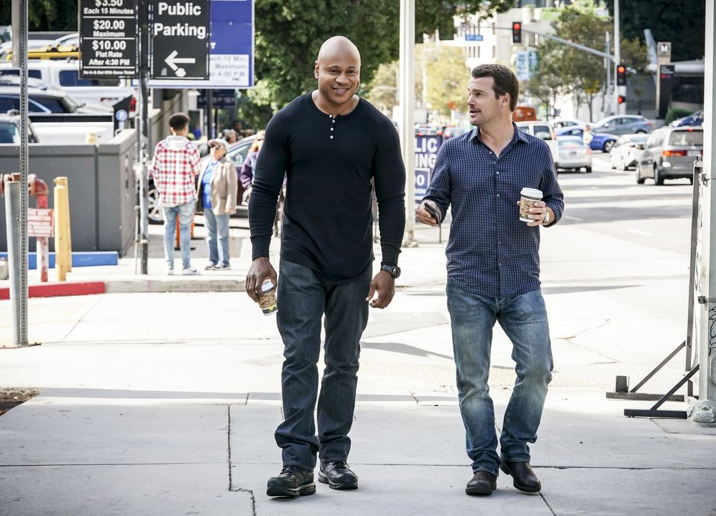 (v.l.n.r.) Sam Hanna (LL Cool J); G. Callen (Chris O'Donnell) - Bildquelle: Sonja Flemming 2018 CBS Bradcasting, Inc. All Rights Reserved./ Sonja Flemming
