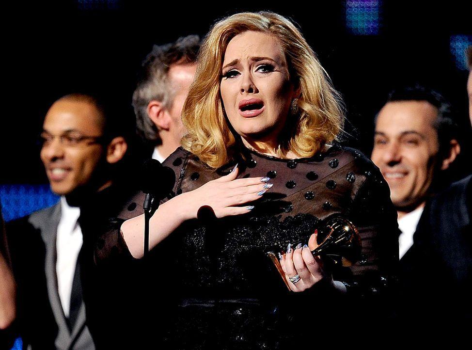 Adele-12-02-12-3-AFP - Bildquelle: AFP