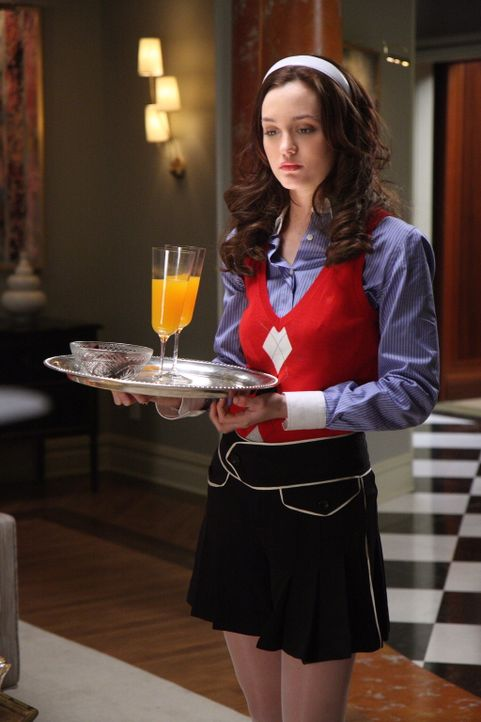 """Blair (Leighton Meester) steckt tief in der Patsche: Vanessa erfährt zufällig von ihrem """"Ausrutscher"""" mit Chuck ... - Bildquelle: Warner Brothers"""