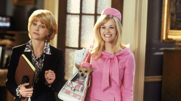 Als Anwältin Elle (Reese Witherspoon, r.) herausfindet, dass ausgerechnet ein...